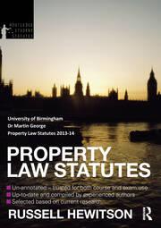 Property Law Statutes