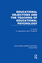 Educational Objectives and the Teaching of Educational Psychology