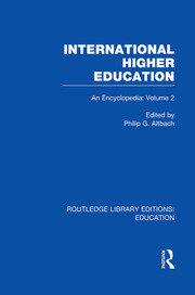 International Higher Education Volume 2: An Encyclopedia