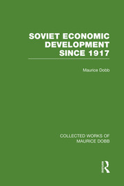 Soviet Economic Development Since 1917