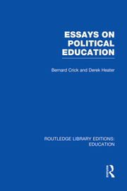 Essays on Political Education