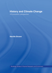 History and Climate Change: A Eurocentric Perspective