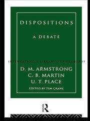 Dispositions: A Debate