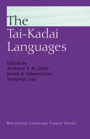 THE TAI DIALECTS OF NGHӊ AN, VIETNAM (TAY DAENG, TAY YO, TAY MUONG)