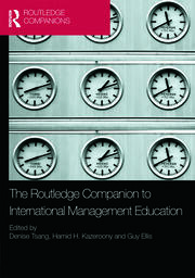 Routledge Companion to International Management Education - 1st Edition book cover
