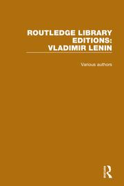 Routledge Library Editions: Vladimir Lenin