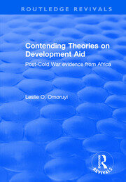 Contending Theories on Development Aid: Post-Cold War Evidence from Africa