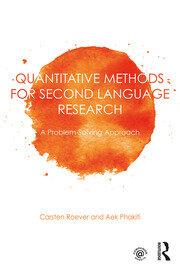 Quantitative methods for Second Language Research