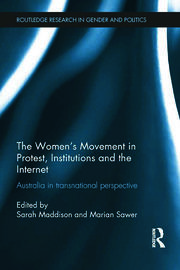Women's Movement in Protest, Institutions & the Internet - 1st Edition book cover