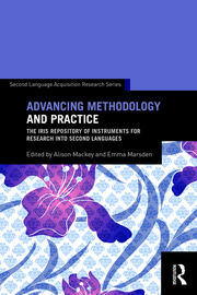 Advancing Methodology and Practice: The IRIS Repository of Instruments for Research into Second Languages