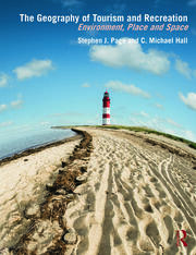 Geog of Tourism & Recreation - Page & Hall - 1st Edition book cover