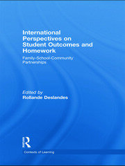 International Perspectives on Student Outcomes and Homework: Family-School-Community Partnerships