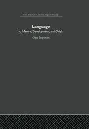 Language: Its Nature and Development