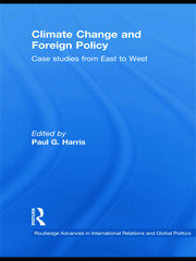 Climate Change and Foreign Policy - 1st Edition book cover
