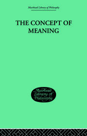 Causal Meanings as Experience Patterns