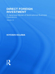 Direct Foreign Investment: A Japanese Model of Multi-National Business Operations