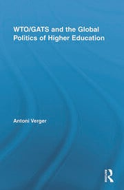 WTO/GATS and the Global Politics of Higher Education