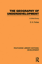 The Geography of Underdevelopment: A Critical Survey