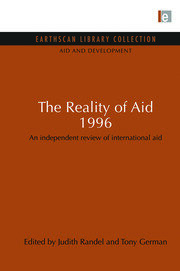 The Reality of Aid 1996: An independent review of international aid