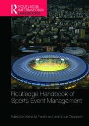 Featured Title - Handbook of Sports Event Management: Parent & Chappelet - 1st Edition book cover