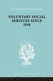 Vol Soc Serv Snce 1918 Ils 195