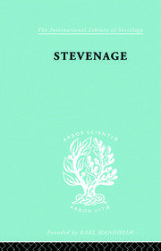 Stevenage: A Sociological Study of a New Town