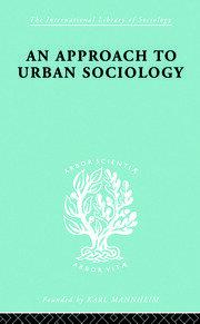 Approach Urban Sociol Ils 168