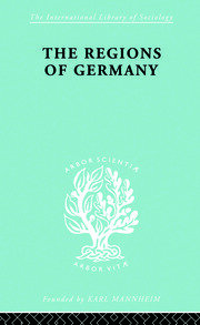 The Regions of Germany: A Geographical Interpretation
