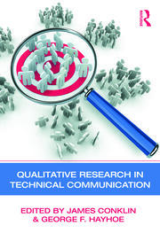 Qualitative Research in Technical Communication - 1st Edition book cover