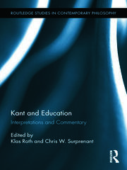 Kant and Education - 1st Edition book cover