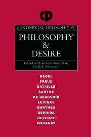 Philosophy and Desire