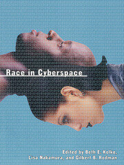 RACE IN CYBERSPACE - 1st Edition book cover
