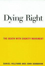 dying right hillyard daniel dombrink john