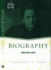 Biography: Writing Lives