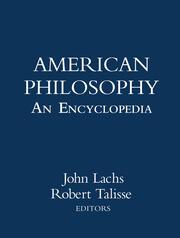 American Philosophy: An Encyclopedia