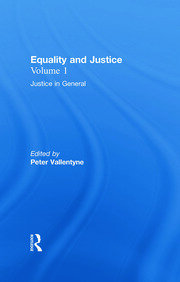 Justice in General: Equality and Justice