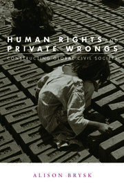 Human Rights and Private Wrongs: Constructing Global Civil Society