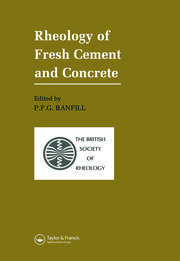 Rheology of Fresh Cement and Concrete: Proceedings of an International Conference, Liverpool, 1990