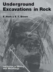 Underground Excavations in Rock