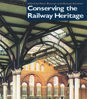 An agenda for the railway heritage
