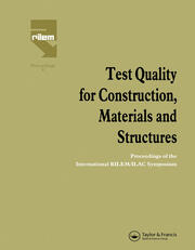 Organization of the Spanish network of testing laboratories (RELE): construction sectorial committee