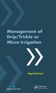 Management of Drip/Trickle or Micro Irrigation