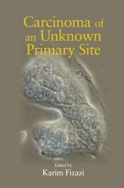 Carcinoma of an Unknown Primary Site