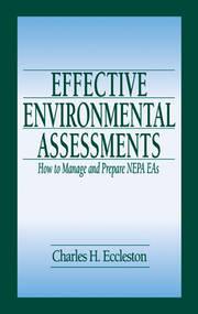 Effective Environmental Assessments
