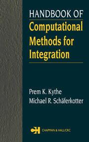 Handbook of Computational Methods for Integration