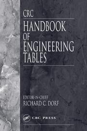 CRC Handbook of Engineering Tables
