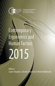 Contemporary Ergonomics and Human Factors 2015