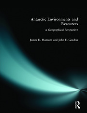 Antarctic Environments and Resources