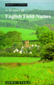 A History of English Field Names