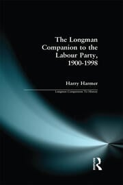 The Longman Companion to the Labour Party, 1900-1998